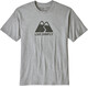 Patagonia Live Simply Winding Responsibili-Tee Men Drifter Grey